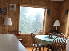 dining room with Lake Superior view